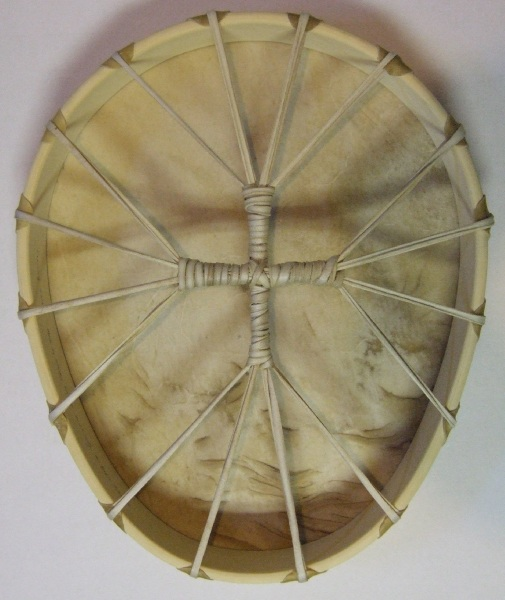 Elk Shaman Egg-Shaped Drum